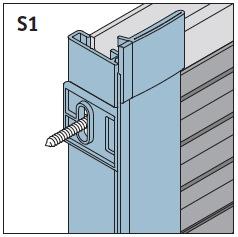 S1 - Seitenführungsschienen 90°/96°<br><b>Preis 31,90 €</b>